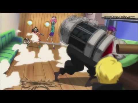 One Piece Film Z - Z,Ain,Binz VS Strawhats HD Ger Sub