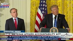 FNN: President Trump Gives Speech and Signs Veteran Affairs Accountability Act at White House