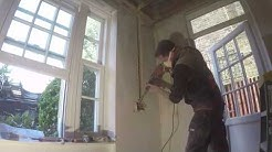Kitchen rewire First Fix - An Electricians Day in London