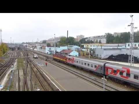 Киров вокзал, прибытие, отправление поездов Panasonic TZ 30