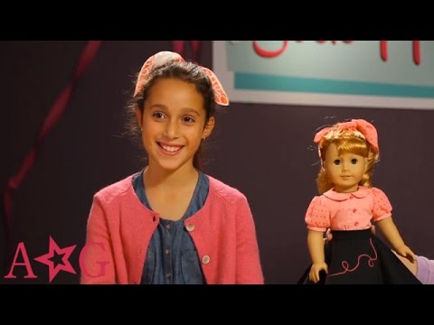 How To Style Sock Hop Hair | Doll Hairstyles | American Girl