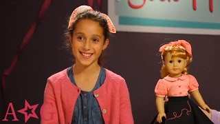 How To Style Sock Hop Hair | Maryellen | American Girl