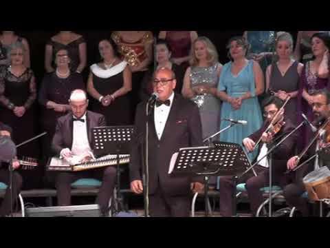 ŞEF MUSTAFA GEÇER IMO T.S.M KOROSU  erkilet güzeli    solist: İbrahim Borlu