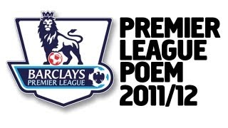 Premier League Poem 2011/12