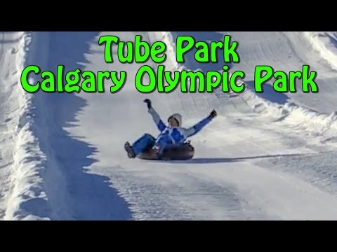 Tube Park In Canada Olympic Park