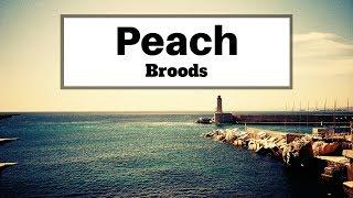 Broods - Peach (Lyrics)   Panda Music