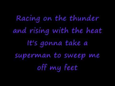 Holding Out For a Hero- Bonnie Tyler- lyrics