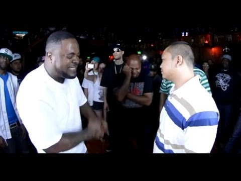 Rap Battle  Blue Jaccet vs Patron  AHAT Washington debut