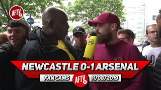 Newcastle 0-1 Arsenal | I'm Proud Of Nelson & Willock! (Turkish)
