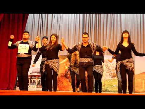 Perform of Syrian students in Azerbaijan oil and industry university (19.12.2015)