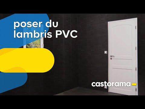 Pose lambris large sur plafond laying wood panels - Comment poser du lambris pvc au plafond video ...