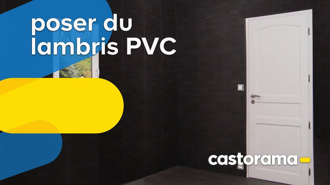Poser du lambris pvc pose agraf e castorama youtube for Pose lambris pvc sur carrelage