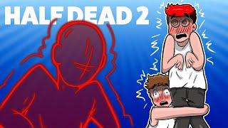 TA GRA MNIE NIENAWIDZI! *załamał się* - Half Dead /Gillathis