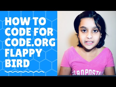 CODE.org Flappy Bird | Scratch Programming | STEAM | Coding | Hour Of Code