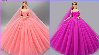 Gorgeous DIY Barbie Doll Dresses | Toy Hacks You'd Wish You'd Known Sooner
