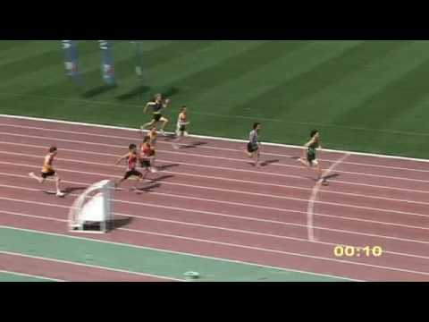 2009 Vic U16 Men 100m