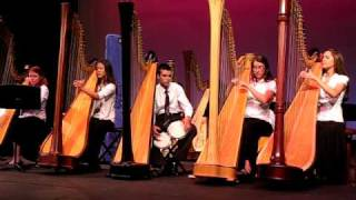 Fireflies by Owl City on 5 harps