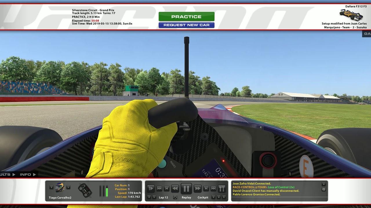 iRacing com   Dallara F3 @ Silverstone