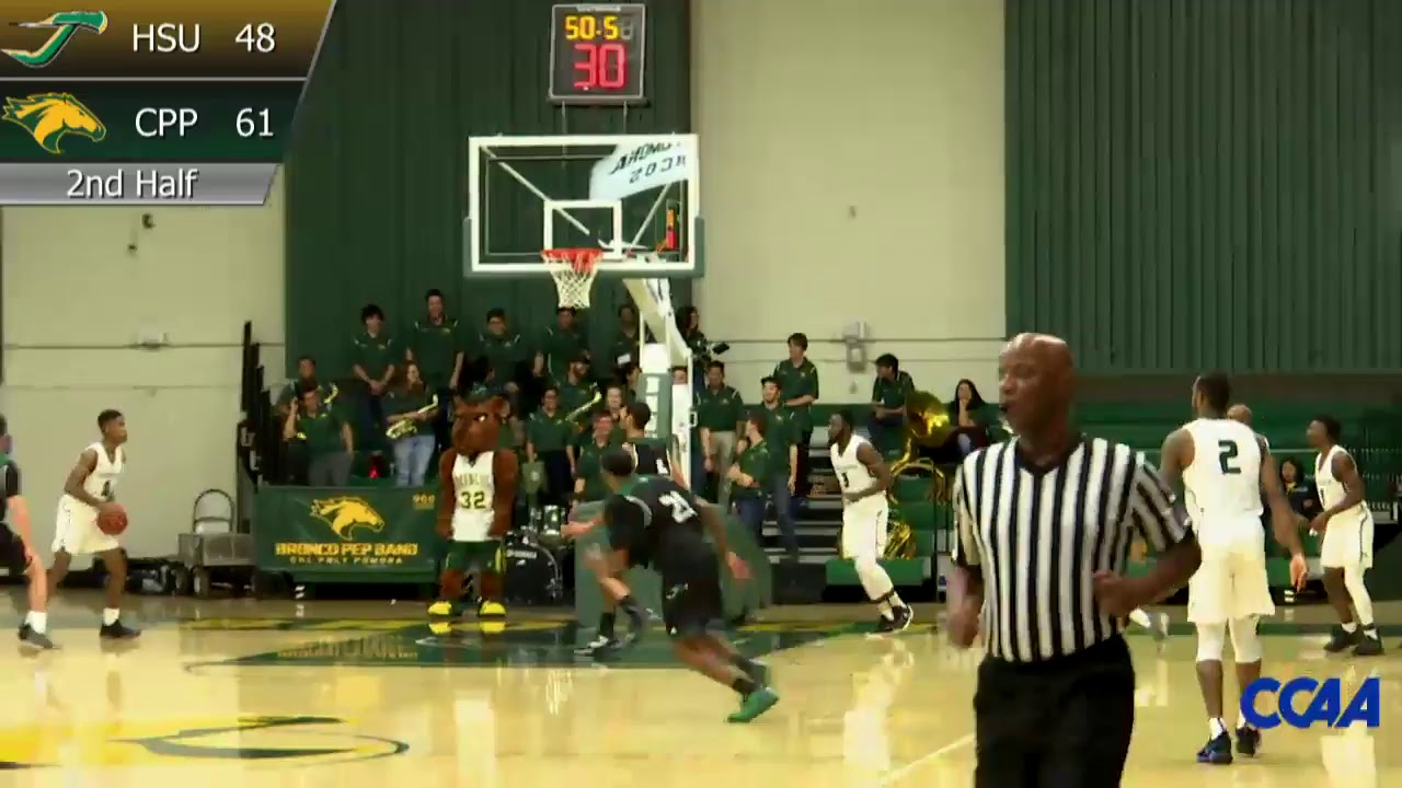 Cpp Basketball Vs Humboldt State Youtube