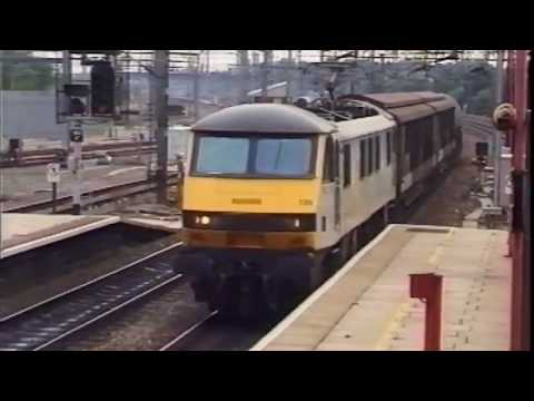 The West Coast Main Line in 1997