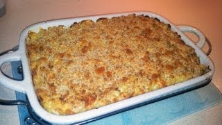 How To Make Home Made Baked Macaroni And Cheese With Ham