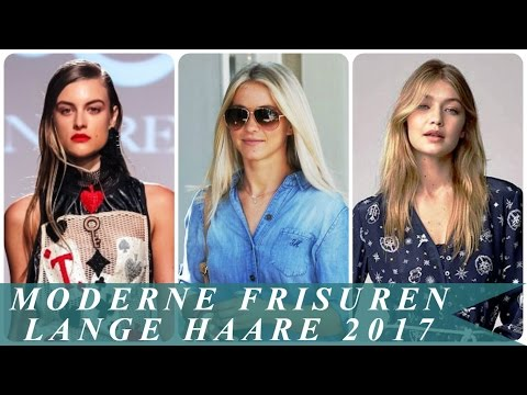 Moderne Frisuren Lange Haare 2017 Youtube