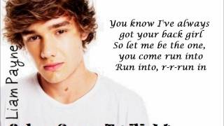 One Direction - Everything About You (lyrics+pictures)