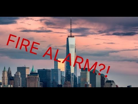 FIRE ALARM WENT OFF IN THE WORLD TRADE CENTER! (NYC VLOG)