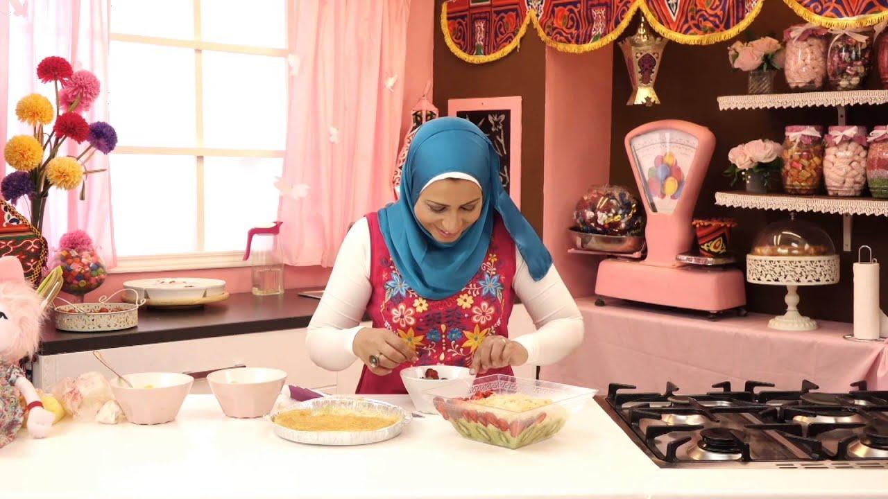 برنامج الحلويات - كنابيه الكنافة الحادقة + ترايفل الكنافة بالمانجو والفراولة - الجزء الثاني