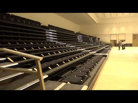 HUSSEY USA RETRACTABLE SEATING PREMIUM PROJECT INDIA OPEN