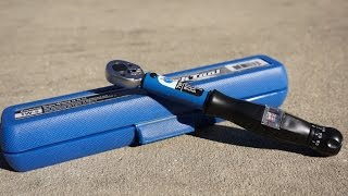 Park Tool TW-5 Torque Wrench Review