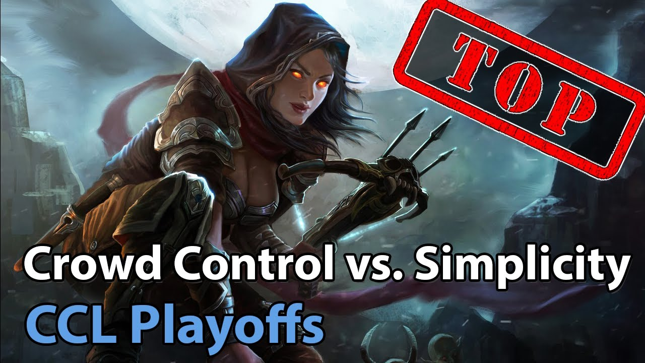 CCL Playoffs: Simplicity vs. Crowd Control - Heroes of the Storm 2021
