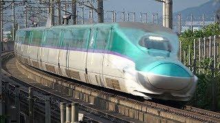 H5系「はやぶさ」+E6系「こまち」 320km/h(北海道・東北・秋田新幹線)