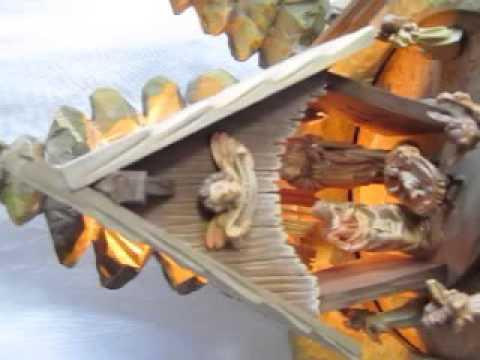 Anri Nativity music box