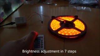 LED Strip Bedroom lighting Part 1 of 2
