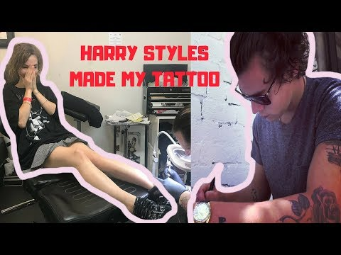 HARRY STYLES DID MY FIRST TATTOO
