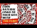 Boost your white hat SEO link building efforts with YouTube.