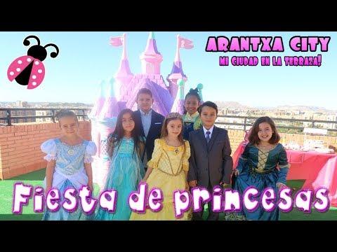 Fiesta de princesas en mi castillo + Coche rosa 🚗 Regalo sorpresa por mi cumple