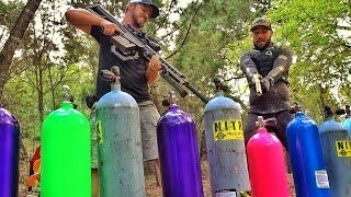 Безопасны ли кислородные баллоны при попадании пули? | Разрушительное ранчо | Перевод Zёбры