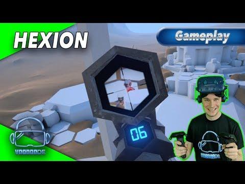 HEXION - Free Locomotion auf Hex-Feldern?! [Gameplay][German][Vive Pro][Virtual Reality]