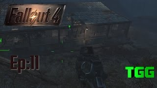 Fallout 4 Ep:11 Greygarden and Weston Water Treatment Plant Outside