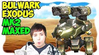 War Robots New Exodus Bulwark Mk2 Maxed Out Gameplay WR