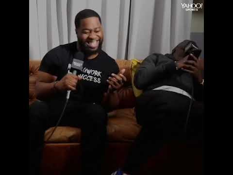 Mark Haynes funny moments on Posted Up with Chris Haynes Yahoo Sports