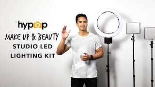 Photo and Video Lighting for Make Up and Beauty Vloggers or Photographers by Hypop