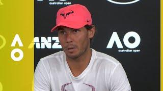 Rafael Nadal press conference (2R)   Australian Open 2018