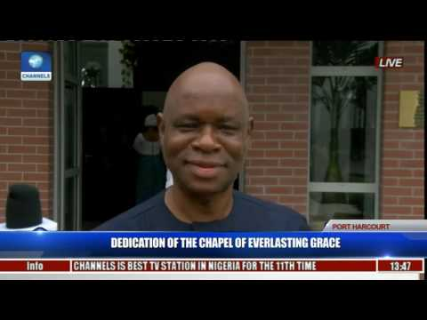 Dedication Of The Chapel Of Everlasting Grace Pt 10
