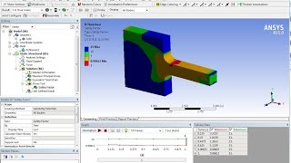 ANSYS Non-Linear Stress-Strain Cast Iron Tutorial - Static Structural