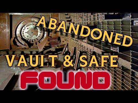(VAULT FOUND) ABANDONED Federal BANK *COPS*