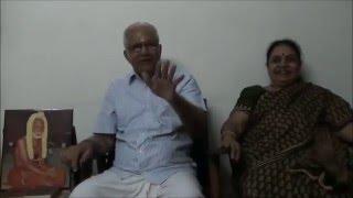 Experience With Maha Periyava By : CPMG Jayaraman Mama & Mami Part 2