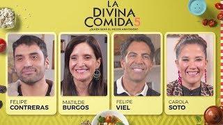 La Divina Comida - Felipe Viel, Carola Soto, Felipe Contreras y Matilde Burgos